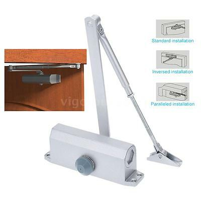 45kg-65kg Automatic Hydraulic Arm Home Door Closer Mechanical Speed Control D1W9