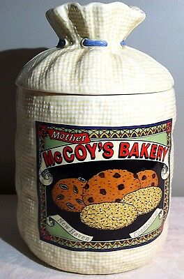 Mother McCoy's Bakery New Haven Connecticut Cookie Jar H&HD 1988 Mexico