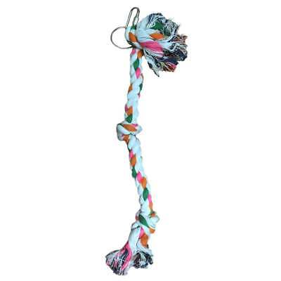 Liberta Parrot Essentials Knotty Cotton Rope Climb Bird Toy