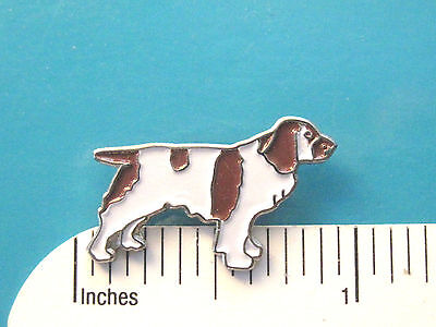 WELCH SPRINGER SPANIEL -   hat pin, lapel pin, tie tac , hatpin (s)  GIFT BOXED