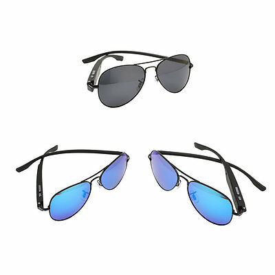 Driving Bluetooth Sunglasses Smart Eyewear Glasses For Android IOS Phone QV