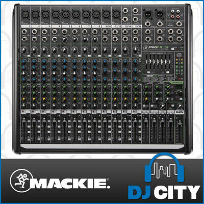 PROFX16V2 Mackie 16 Channel PA Mixer with FX Effects and USB