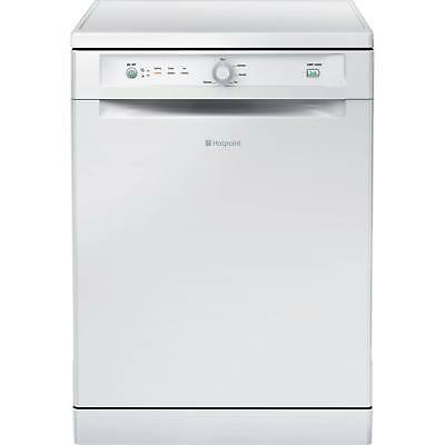 Hotpoint Experience FDEB10010P Full Size 13 Place Settings Dishwasher in White