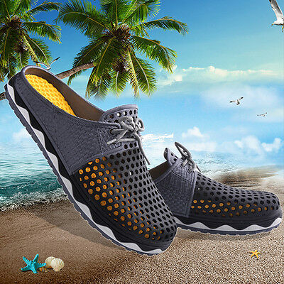 Summer Popular Hollow Breathable Shoes Couple Casual Fashion Sandals Slippers