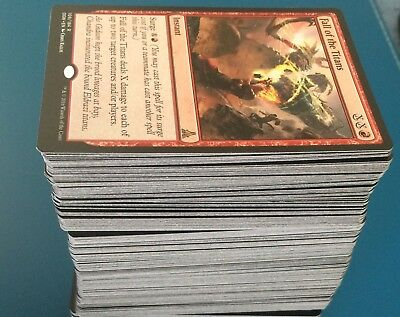 200x Bulk Mix MTG Magic The Gathering Trading Cards RARES Unc Com Land