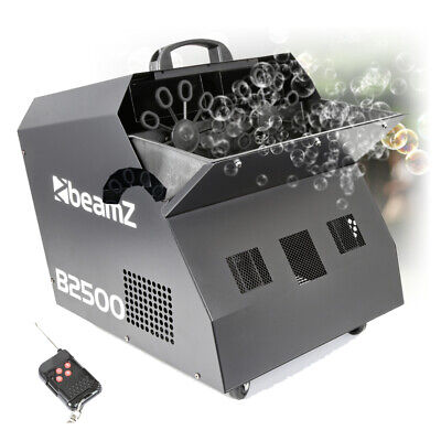 DOUBLE BUBBLE Large BIG GIANT KING Machine Wireless remote DJ Disco Party Effect