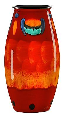 Poole Pottery Volcano Ceramic Small Manhattan Vase 26cm First Quality UK Made