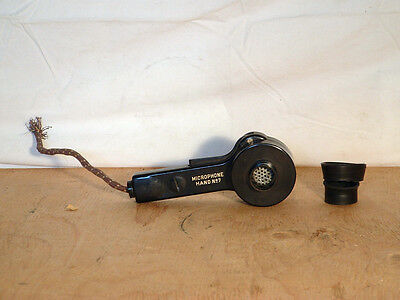 WW2 Wireless Set No.19, WS19 Microphone No.7 from Headset Assembly, Cone Perish