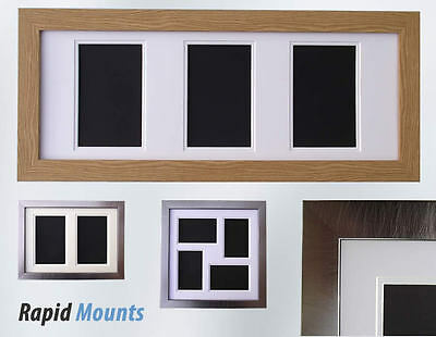 Multi Aperture 30mm Frame with Double Mount, Backing and hangers. Various Styles