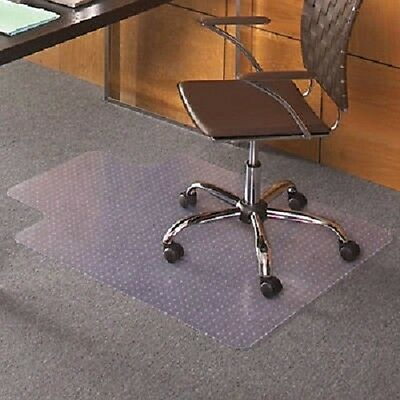 """36 x 48"""" Carpet Home Office PVC Floor Mat with Lip for Office Rolling Chair"""