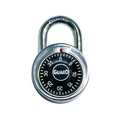 Guard Security 1500 Dial Combination Padlock 2 inch Security Lock