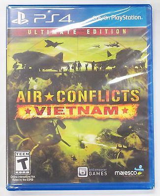 Air Conflicts: Vietnam Ultimate Edition for SONY PlayStation 4 PS4 **NEW**