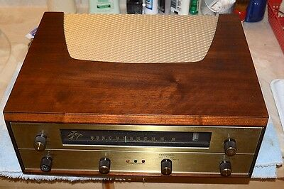 FISHER FM-200-B STEREO VACUUM TUBE FM-only TUNER PRO SERVICED