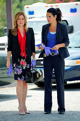A. Harmon and S. Alexander (Rizzoli and Isles) 8x10 walking on to the show