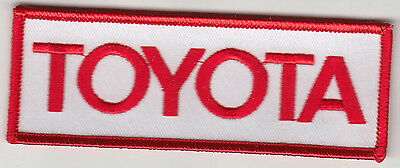 Toyota Embroidered Patch