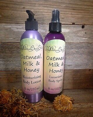Women's Body Lotion & Body Mist Set 9.5 oz Each -Pick Your Scent