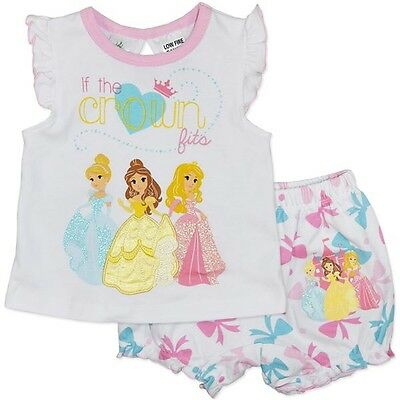 Disney Princess NWT Baby Girls Cotton Pyjamas (PJ's) - FAST 'N' FREE POSTAGE