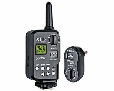 Godox XT-16 XT16 2.4G Wireless Power Remote Control Flash Strobe Trigger