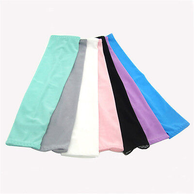 Pair of Arm Sleeves Men's Cool Down Sun UV Protection for Cycling Golf