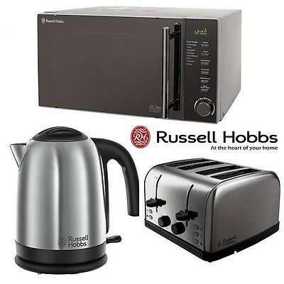 Kettle toaster sets coffee tea espresso making for Kitchen set kettle toaster microwave