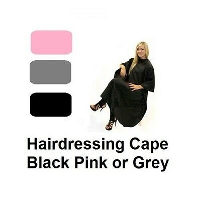 Hairdressing Economy Cape Adult Home Hair Cut Gown Clothes Protector 3 COLOURS