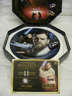 Star Wars - Collector's Plate - Obi-Wan Kenobi