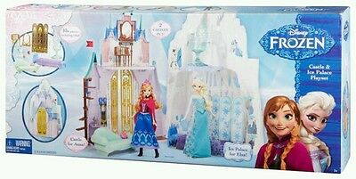 Disney Frozen Ice Palace Playset with Accessories including Olaf Figure.