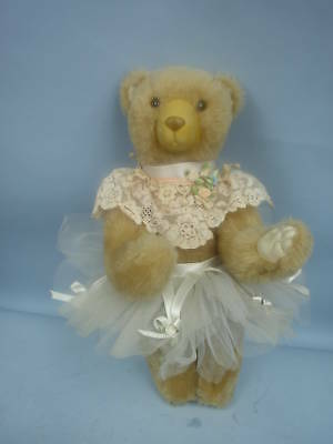 "13"" Ballerina Bear by Wendy Brent 1987 #10/50"