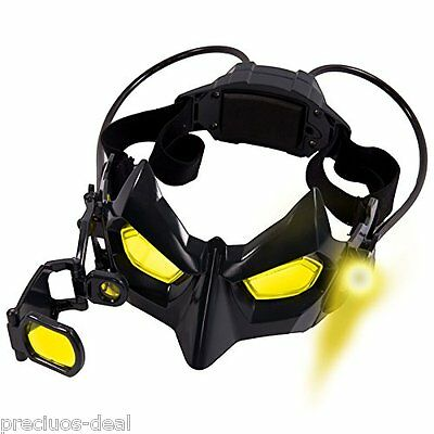 Batman Electronic Night Goggle Mask Toy + Magnifying Glass Viewfinder Crosshair