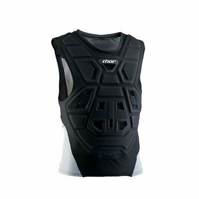 Thor Racing Adult Comp Black Chest Roost Protector Under-Jersey SMALL/MEDIUM
