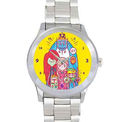 New Adventure Time The Legend of Zelda Metal Watch Stainless Band