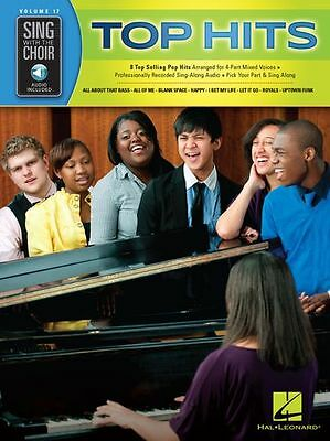 Sing With The Choir Imagine Dragons Taylor Swift VOCAL MUSIC BOOK & ONLINE AUDIO