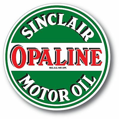 Sinclair Opaline Gasoline Oil Super High Gloss Outdoor 4 Inch Decal Sticker