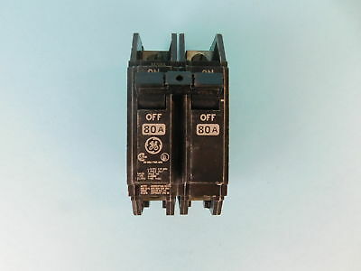 General Electric 2-Pole, 80 Amp, 120/240V Circuit Breaker L-4660
