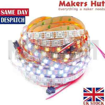 WS2812B 5050 RGB 5V Full color Addressable Strip- 30 - 60 -144 LED/M - IP30 IP67