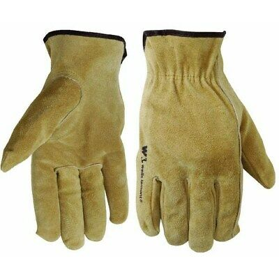 Suede Cowhide Leather Work Glove,No 1012XL,  Wells Lamont Corp