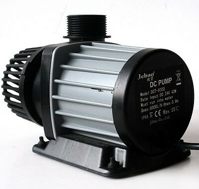 JEBAO JECOD DCT 4000 6000 8000 12000 15000 DC AQUARIUM PUMP submerge pond marine