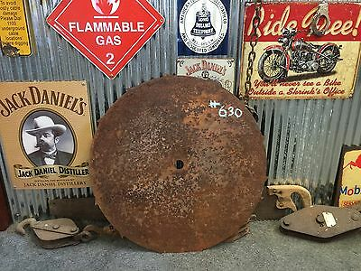 Vintage Industrial Rustic Milling Saw Blade Bar Man Shed item #630