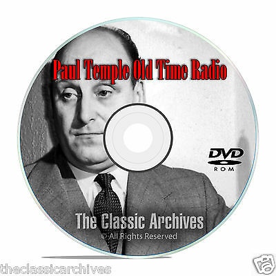 Paul Temple OTR Old Time Radio, 125 Episodes, 16 Classic Series, on MP3 DVD E90