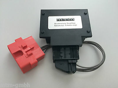 MTM Start Stop Deaktivierung Audi A3 S3 RS3 8V Interface Codier Dongle Modul