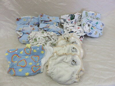 Lot of 15 Cloth Diapers Clean! No stains!