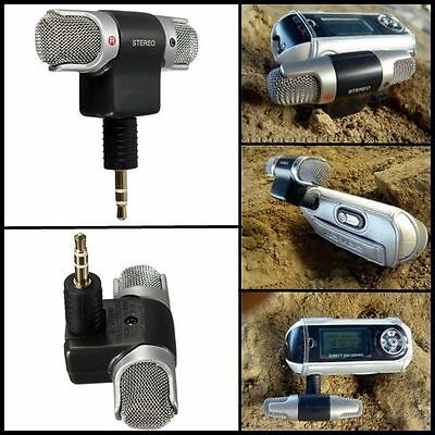 Portable Mini Microphone Digital Stereo for Recorder PC Mobile Phone Laptop Mic