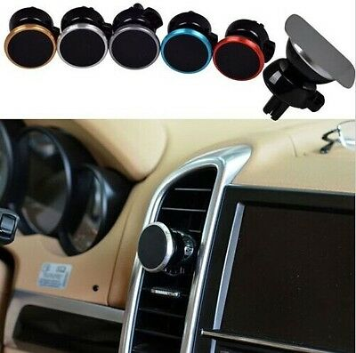 Universal 360 Car Air Vent Mount Magnetic Cradle Holder Stand For Samsung Phone