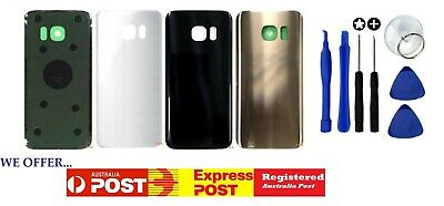 Samsung Galaxy S8 Plus S7 Edge Back Glass Housing Battery Cover Case Replacement