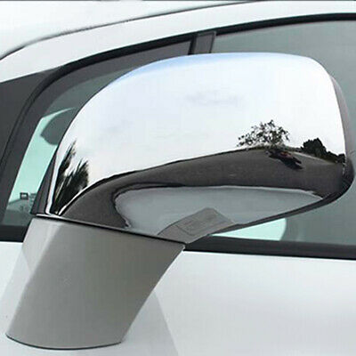 For Opel Vauxhall Mokka 12- Chrome Rear View Side Mirror Cover Trim Cap Overlay
