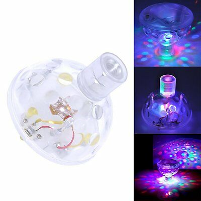 Floating Underwater LED Disco Light Glow Show Swimming Pool Hot Tub Spa Lamp NEW