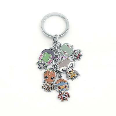 Marvel's Guardians of the Galaxy Keychain - UK Seller