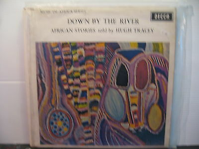 Down By the River -African Stories Read by Hugh Tracey-Vinyl Lp - Free UK Post