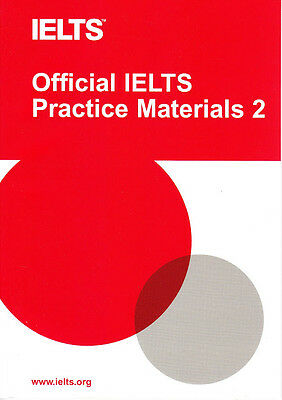 Official IELTS Practice Materials 2 with DVD by University of Cambridge ESOL New