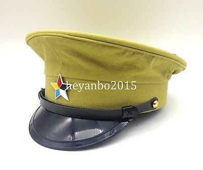 WW2 CHINESE Army TRAITOR HAT Officers Imperial Army Hat, Officer Eagle Puppet M